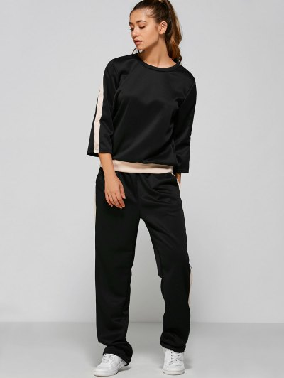 Sweatshirt High Waisted Pants
