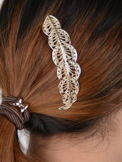 Leaf Hairpin