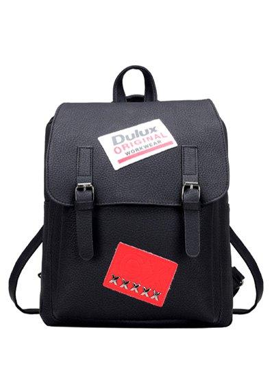 PU Leather Backpack