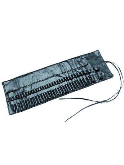 Faux Leather Makeup Brush Storage Bag