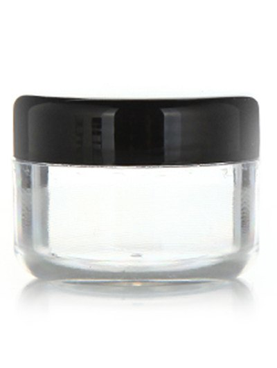 2 Pcs Travel Cream Jars Cosmetic Empty Jars