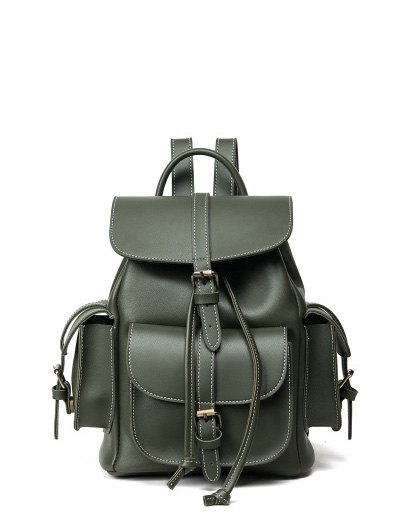 Buckle Straps Backpack