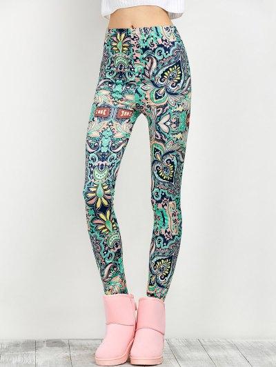 Stretchy Print Leggings
