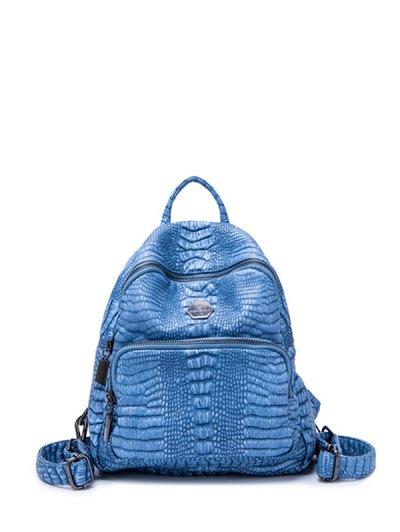 Crocodile Embossed Backpack
