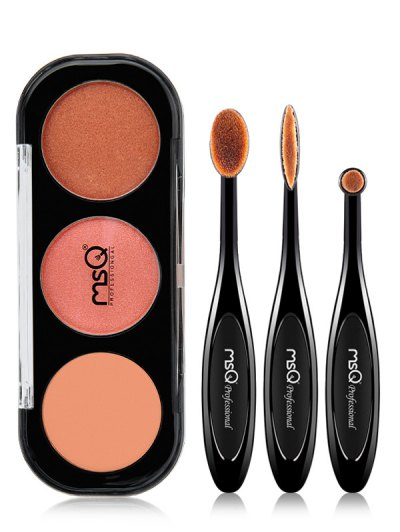 Eyeshadow Palette with Eyeshadow Brushes