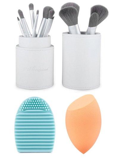 12 pcs Makeup Brushes Kit Beauty Blender Brush Egg