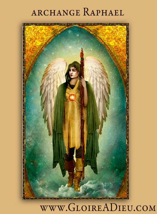Qu Est Ce Qu Un Archange : archange, L'archange, Raphaël, Prince, Archanges?, Gloire