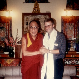 Mark's Audience with HH the Dalai Lama