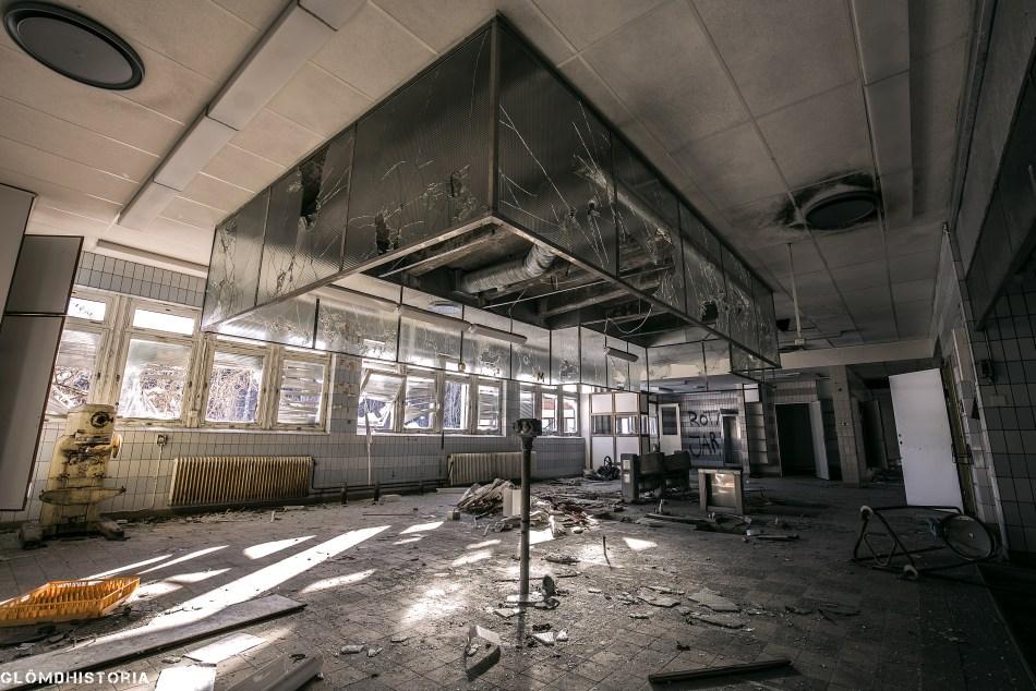 Övergivet Mentalsjukhus