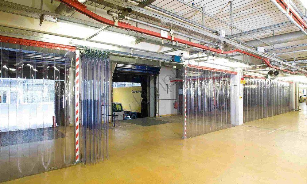 rideaux plastiques industriels