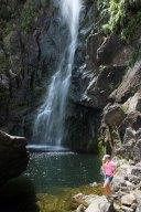 Wairere Falls - température ressentie : -800°C