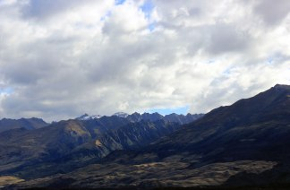 Sur la route de Wanaka