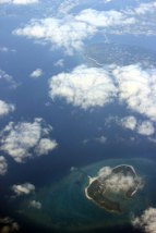 Okinawa vu du ciel