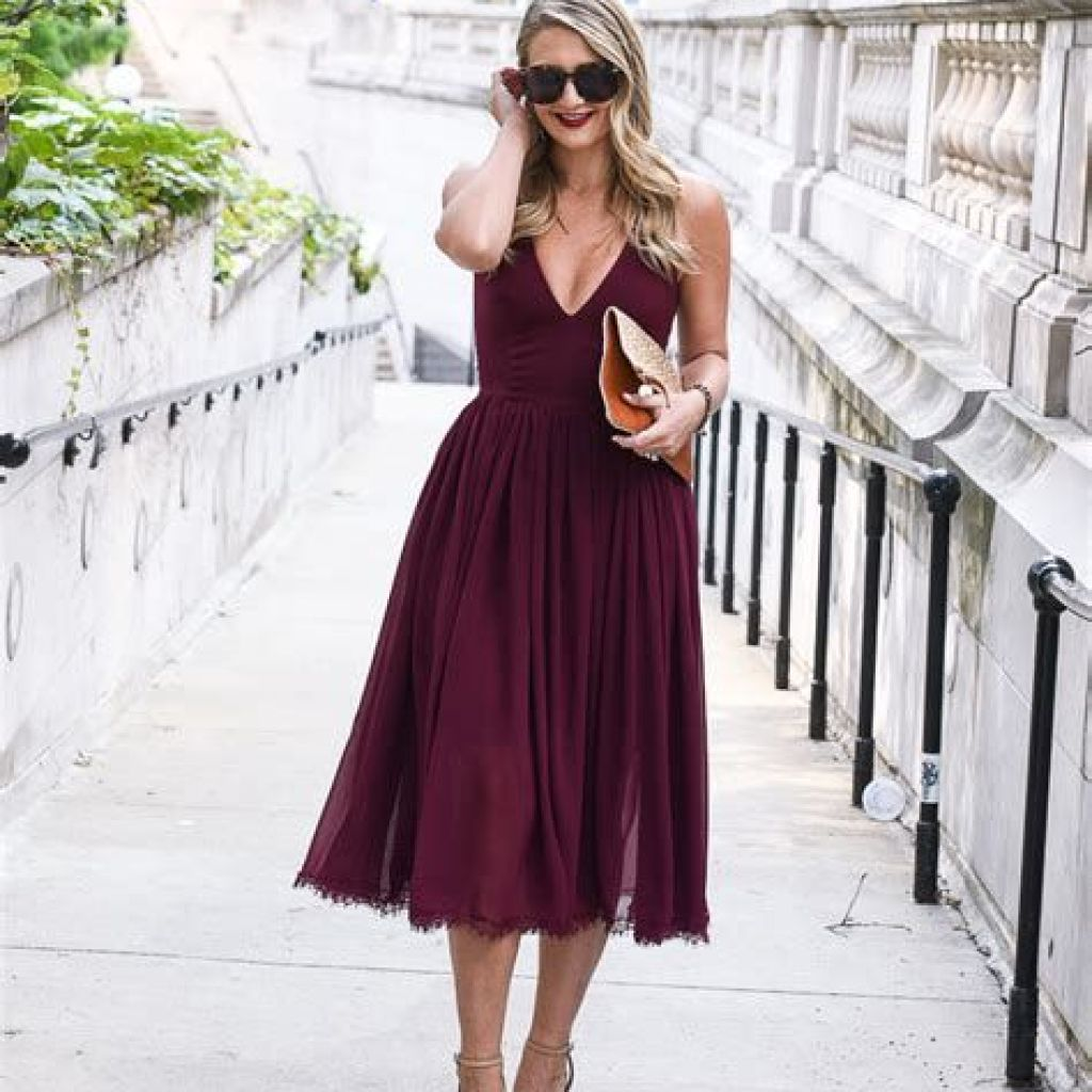 Adorable Fall Wedding Guest Outfits Ideas 44