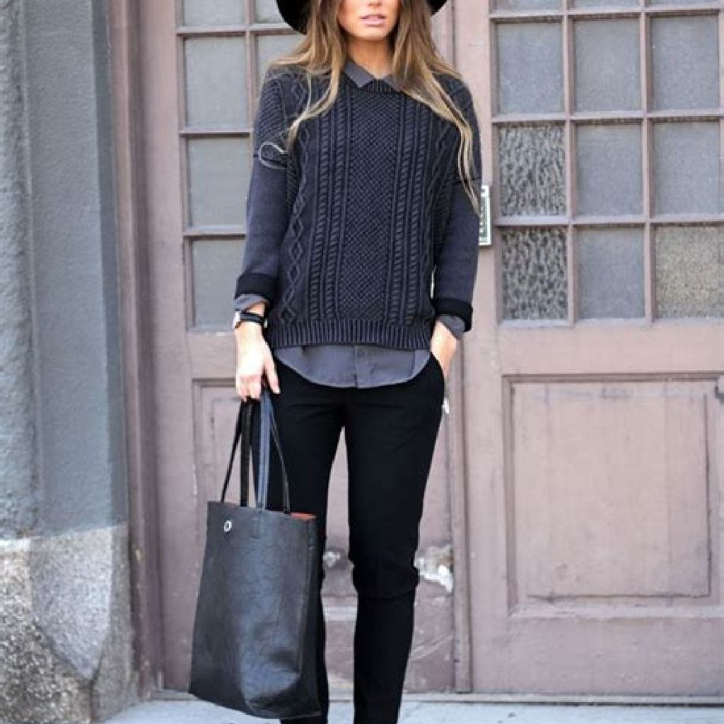 Adorable Sweater Style Ideas For Your Fall Season 18