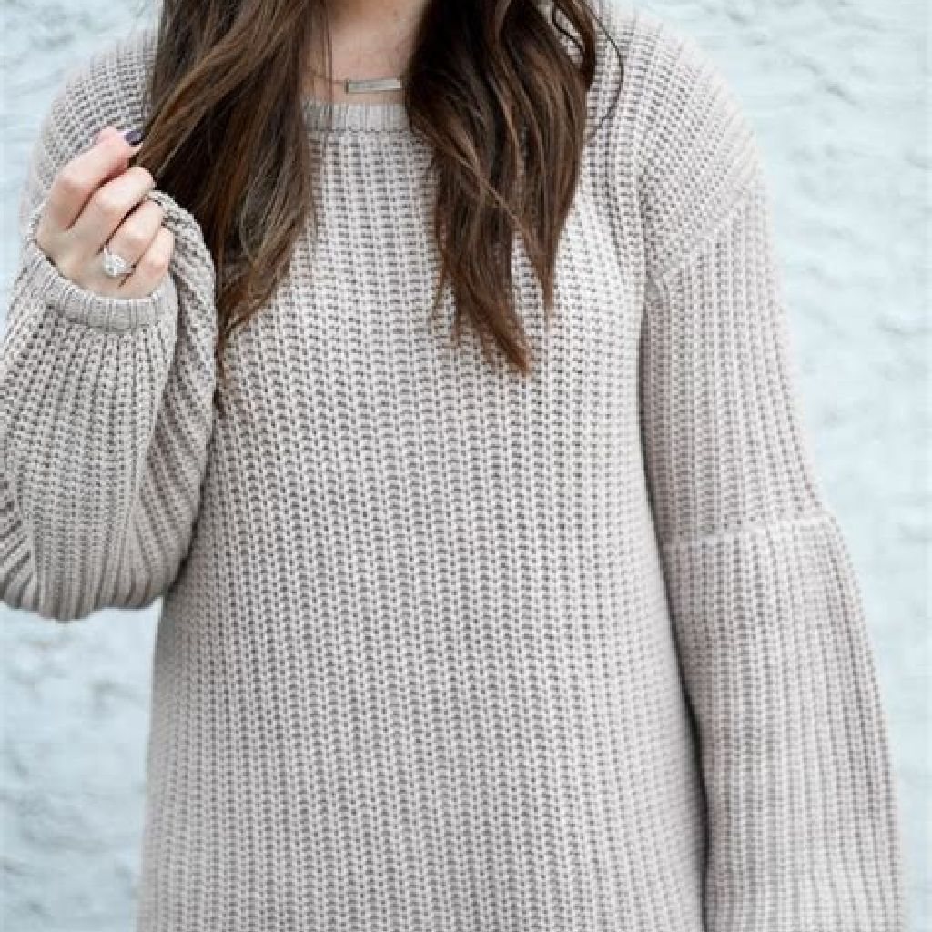 Chic Sweater Combination Ideas Suitable For Fall And Winter 32