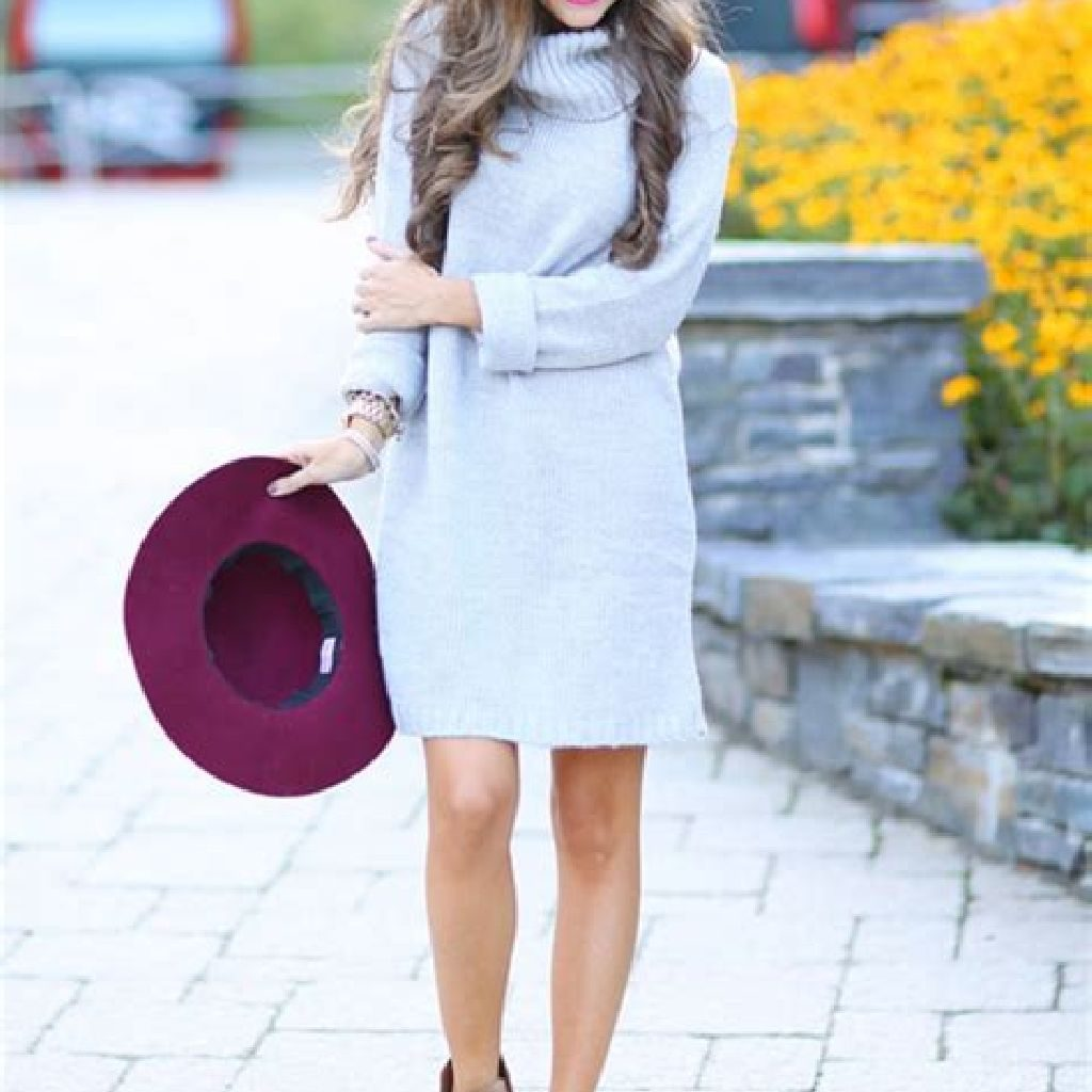 Chic Sweater Combination Ideas Suitable For Fall And Winter 33