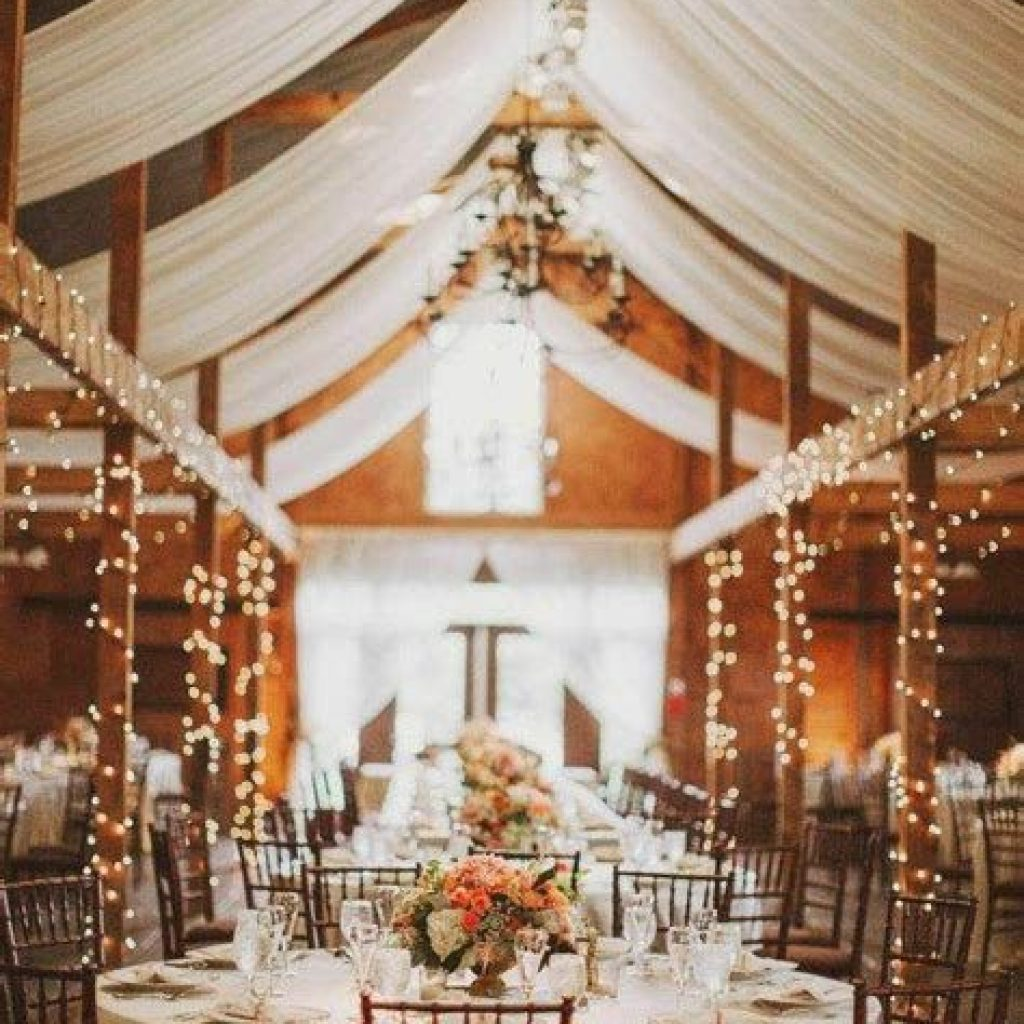 Romantic Rustic Wedding Decor Ideas 02