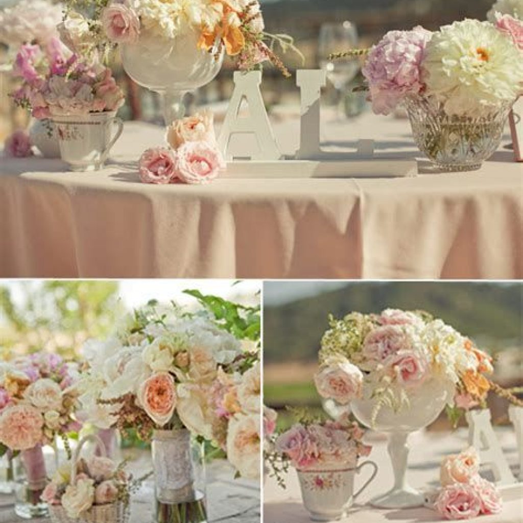 Romantic Rustic Wedding Decor Ideas 23