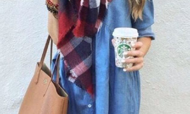 Stunning Fall Outfits Ideas With Scarves 02