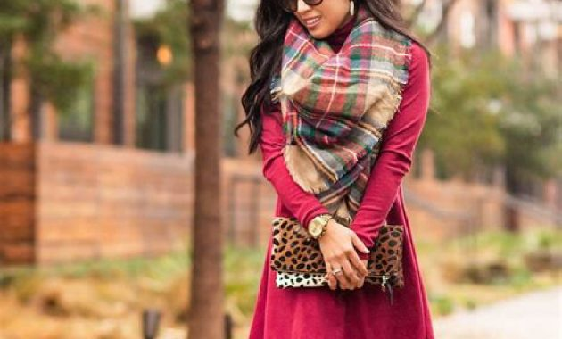 Stunning Fall Outfits Ideas With Scarves 19