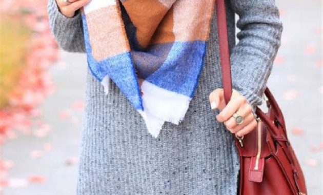 Stunning Fall Outfits Ideas With Scarves 43