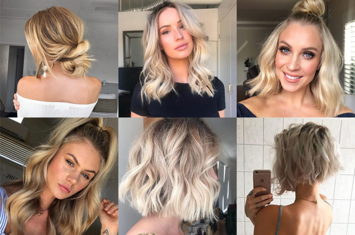 10 Hairstyles To Transform Thin Hair |Sitting Pretty Medium Blonde Hairstyles For Fine Hair