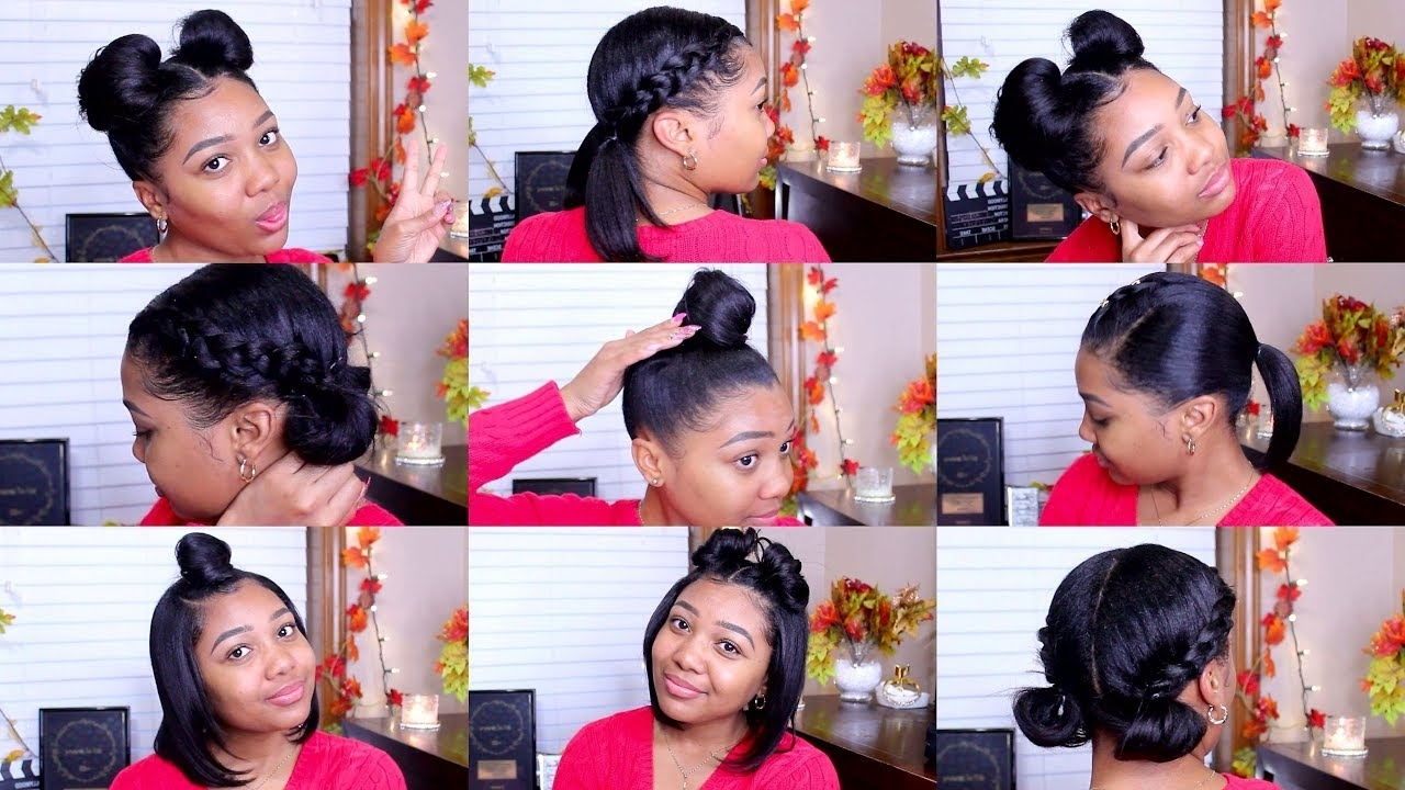 10 Quick & Easy Hairstyles | Shoulder Length Hair! 40+ Cute Medium Length Hairstyles For Relaxed Hair