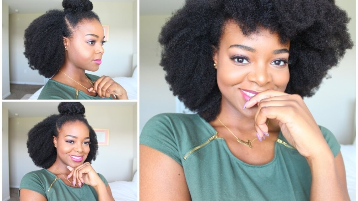 10 Simple Natural Hairstyles For Beginners! – Naturall 40+ Cute 4C Natural Hairstyles Medium Length