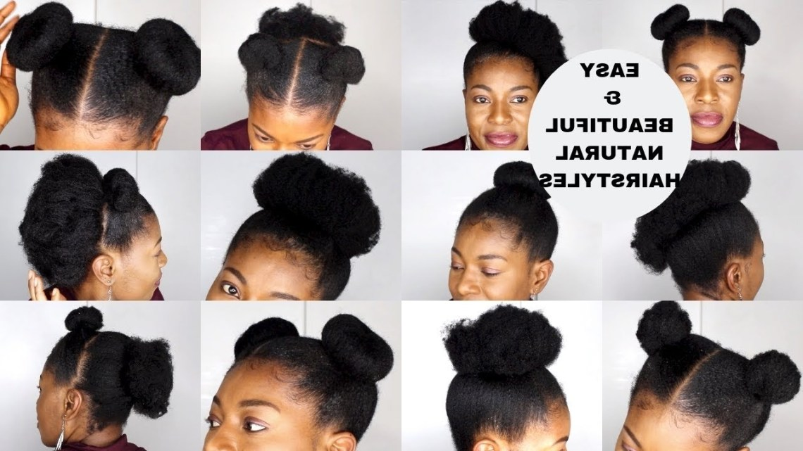 10 Very Easy Natural Hairstyles // Short To Medium Length // 4C Neknatural 40+ Cute 4C Natural Hairstyles Medium Length