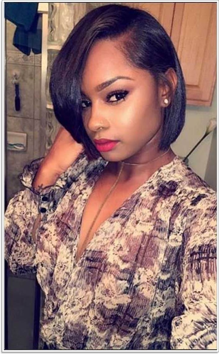 104 Hairstyles For Black Girls That You Need To Try In 2019! Black Girl Medium Length Hairstyles