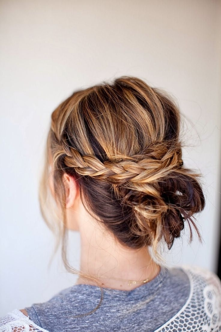 18 Quick And Simple Updo Hairstyles For Medium Hair 10+ Adorable Put Up Hairstyles For Medium Length Hair