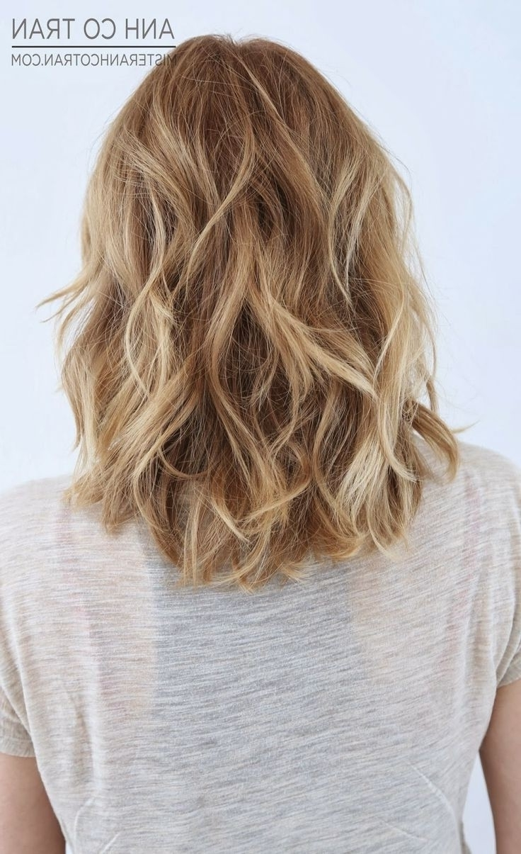 18 Shoulder Length Layered Hairstyles Popular Haircuts Medium Length Hairstyles For Thick Wavy Hair 2015