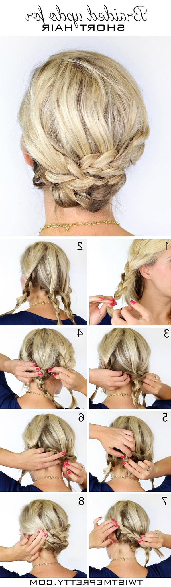 20 Diy Wedding Hairstyles With Tutorials To Try On Your Own 20+ Adorable Diy Wedding Hairstyles For Medium Hair