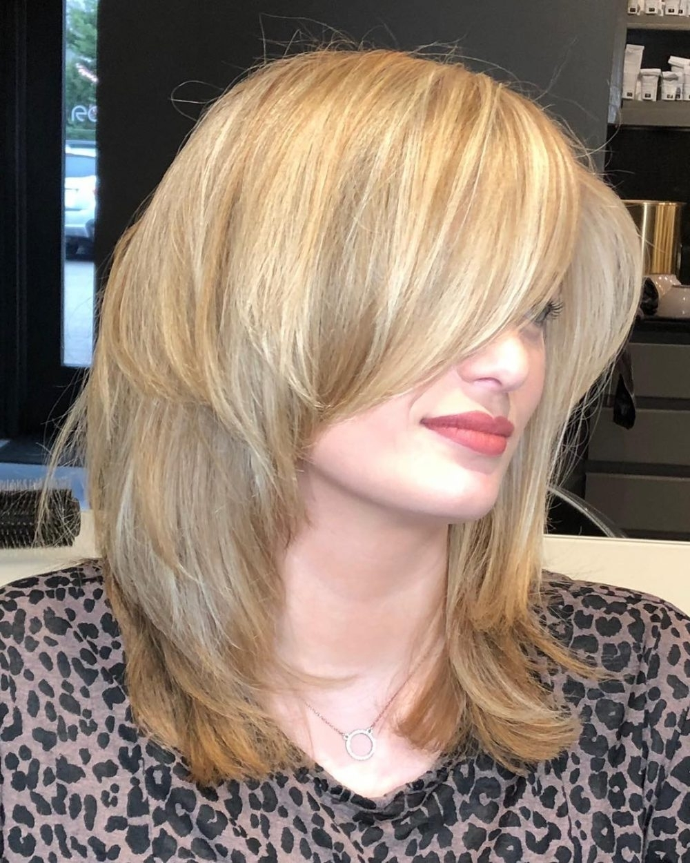 23 Perfect Medium Hairstyles For Square Faces In 2021 40+ Awesome Razored Hairstyles For Medium Hair