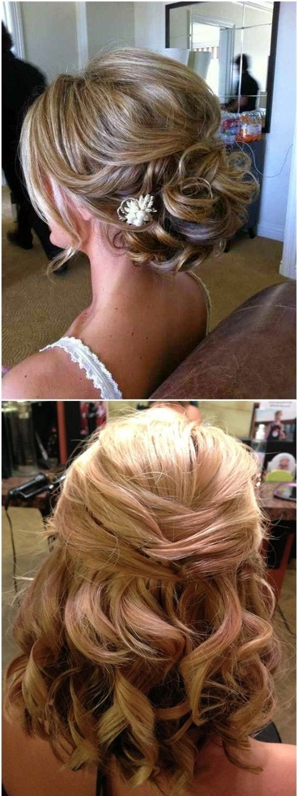 24 Medium Length Wedding Hairstyles For 2020 Mrs To Be 20+ Awesome Half Up Medium Length Hair Wedding Hairstyles