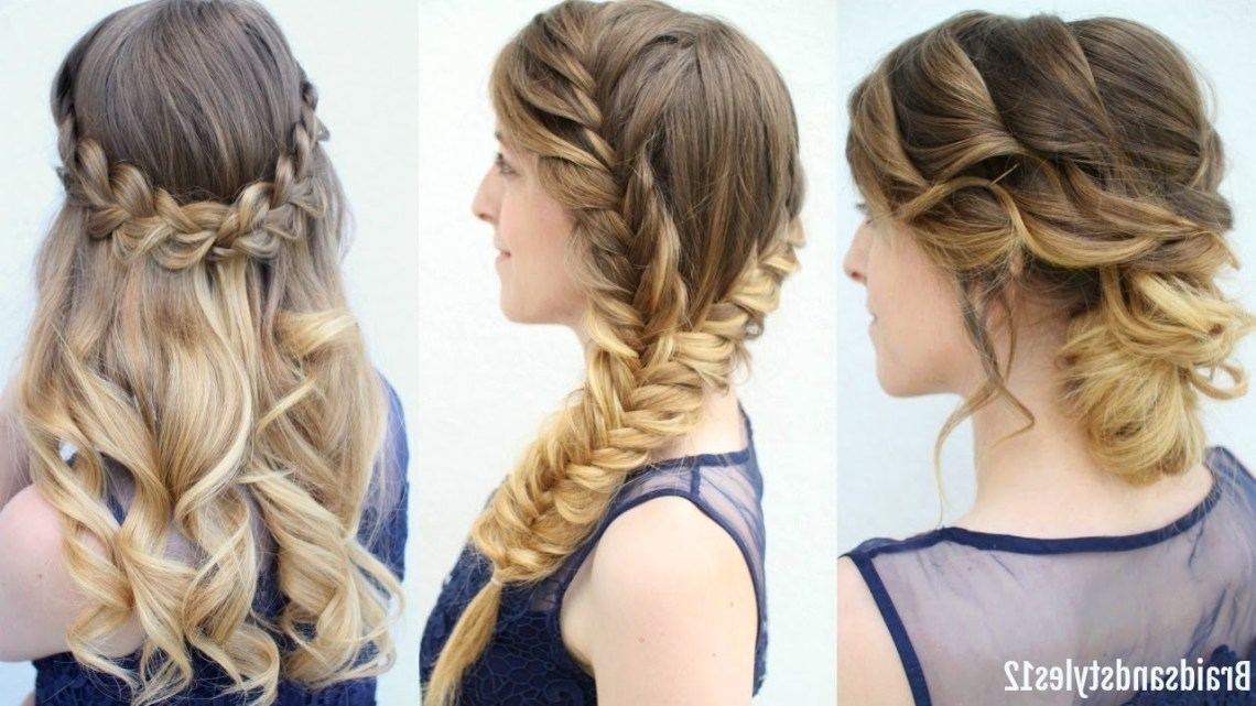 3 Graduation Hairstyles To Wear Under Your Cap | Formal Hairstyes | Braidsandstyles12 Hairstyles For Graduation For Medium Length Hair