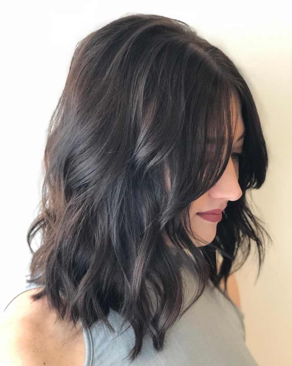 30 Best Hairstyles For Thick Hair & Trending Thick Haircuts 30+ Awesome Thick Hair Low Maintenance Medium Length Hairstyles