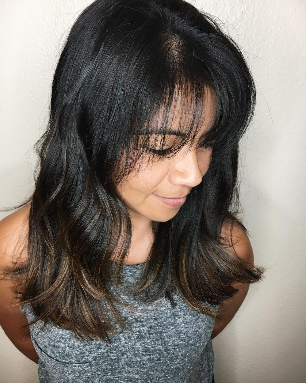 30 Best Hairstyles For Thick Hair & Trending Thick Haircuts Medium Length Hairstyles For Thick Hair With Fringe