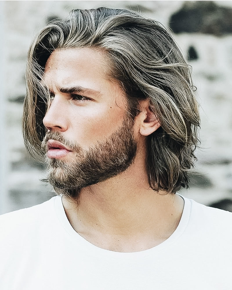 31 Best Medium Length Haircuts For Men And How To Style Them Medium Size Hairstyles For Men