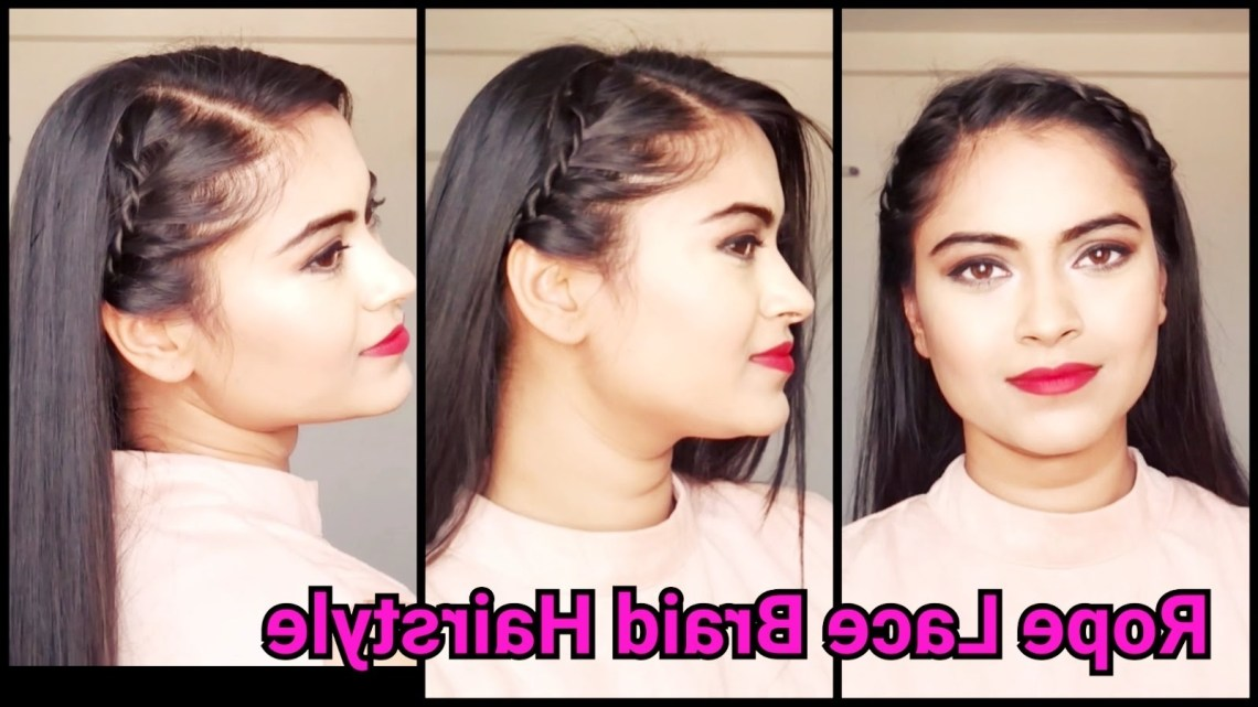 4 Quick & Easy Hairstyles For Summer For Medium/Long Hair Party Hairstyles For Medium Length Hair Indian