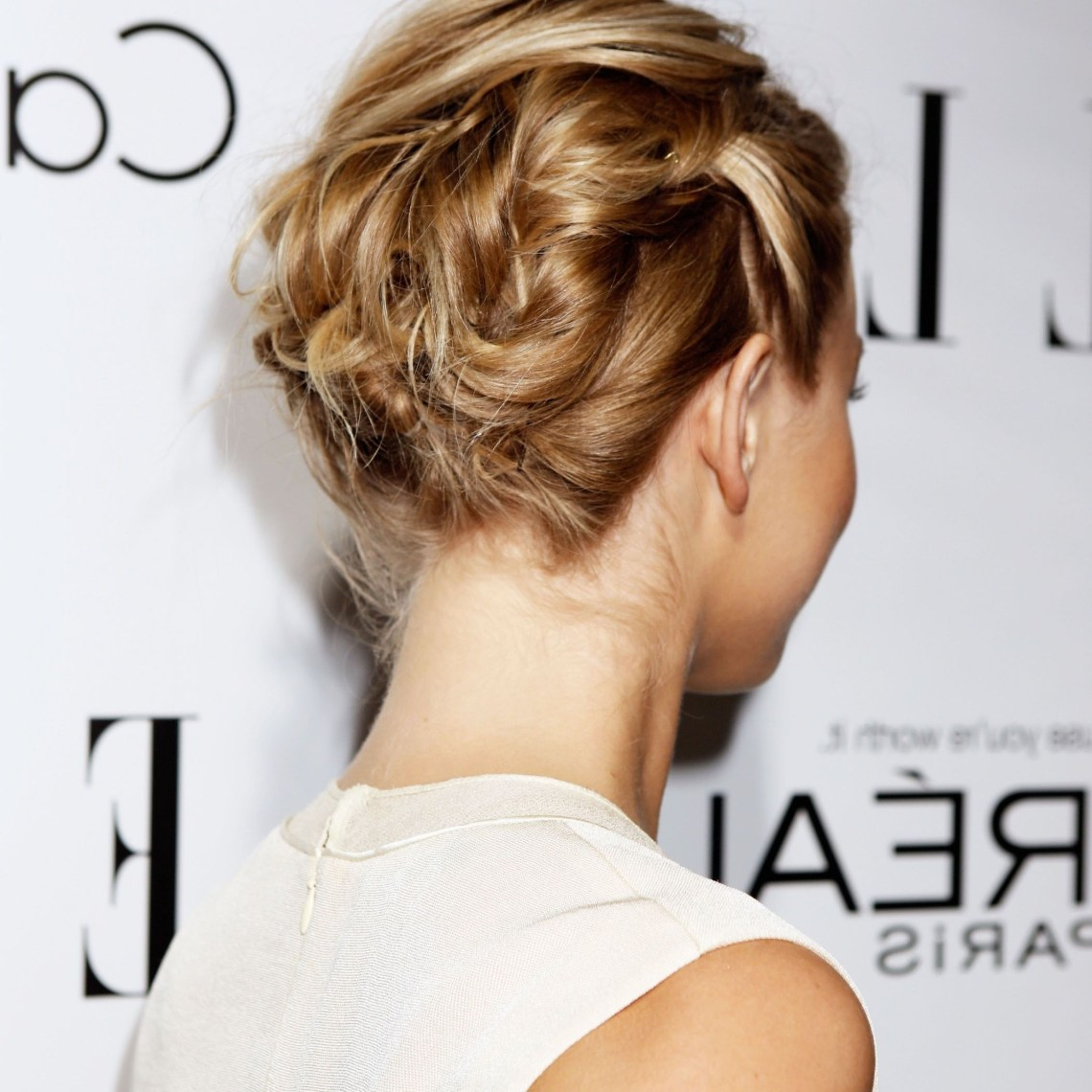 44 Incredibly Chic Updo Ideas For Short Hair 20+ Amazing Medium Length Updo Hairstyles With Bangs