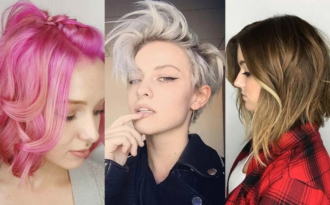 55 Short Hairstyles For Women With Thin Hair | Fashionisers© 40+ Awesome Funky Medium Length Hairstyles 2019