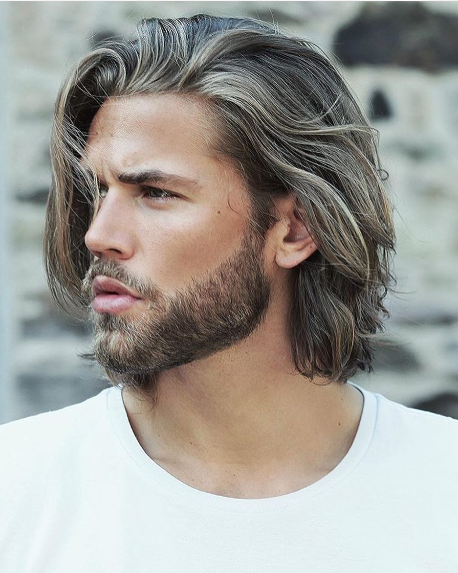 60 Best Medium Length Hairstyles And Haircuts For Men 2018 30+ Stylish Best Medium Hairstyles For Men