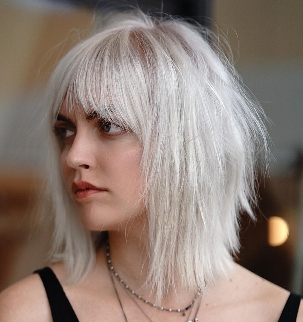 60 Medium Length Haircuts And Hairstyles To Pull Off In 2020 Blonde Hairstyles For Medium Length Hair