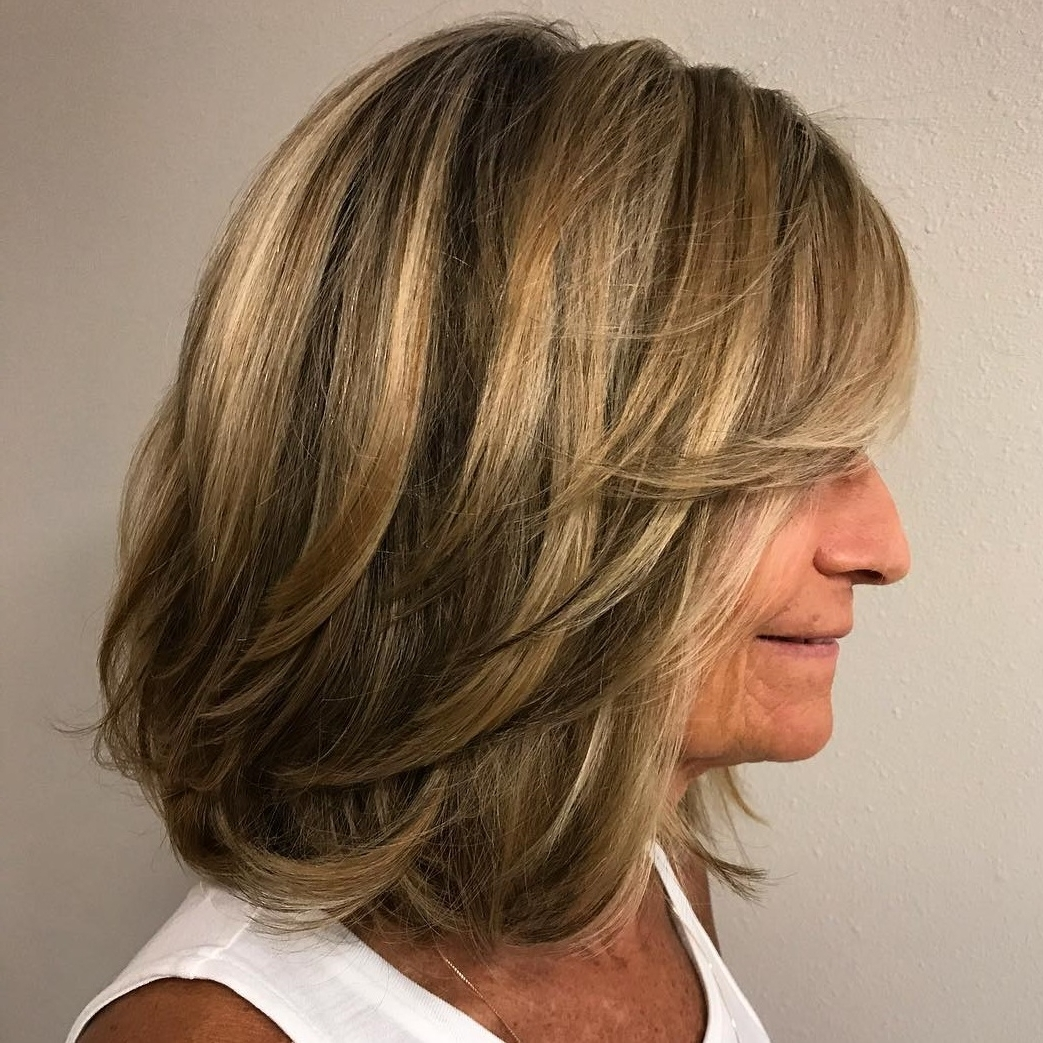 60 Trendiest Hairstyles And Haircuts For Women Over 50 In 2020 Medium Length Hairstyles For Over 50S