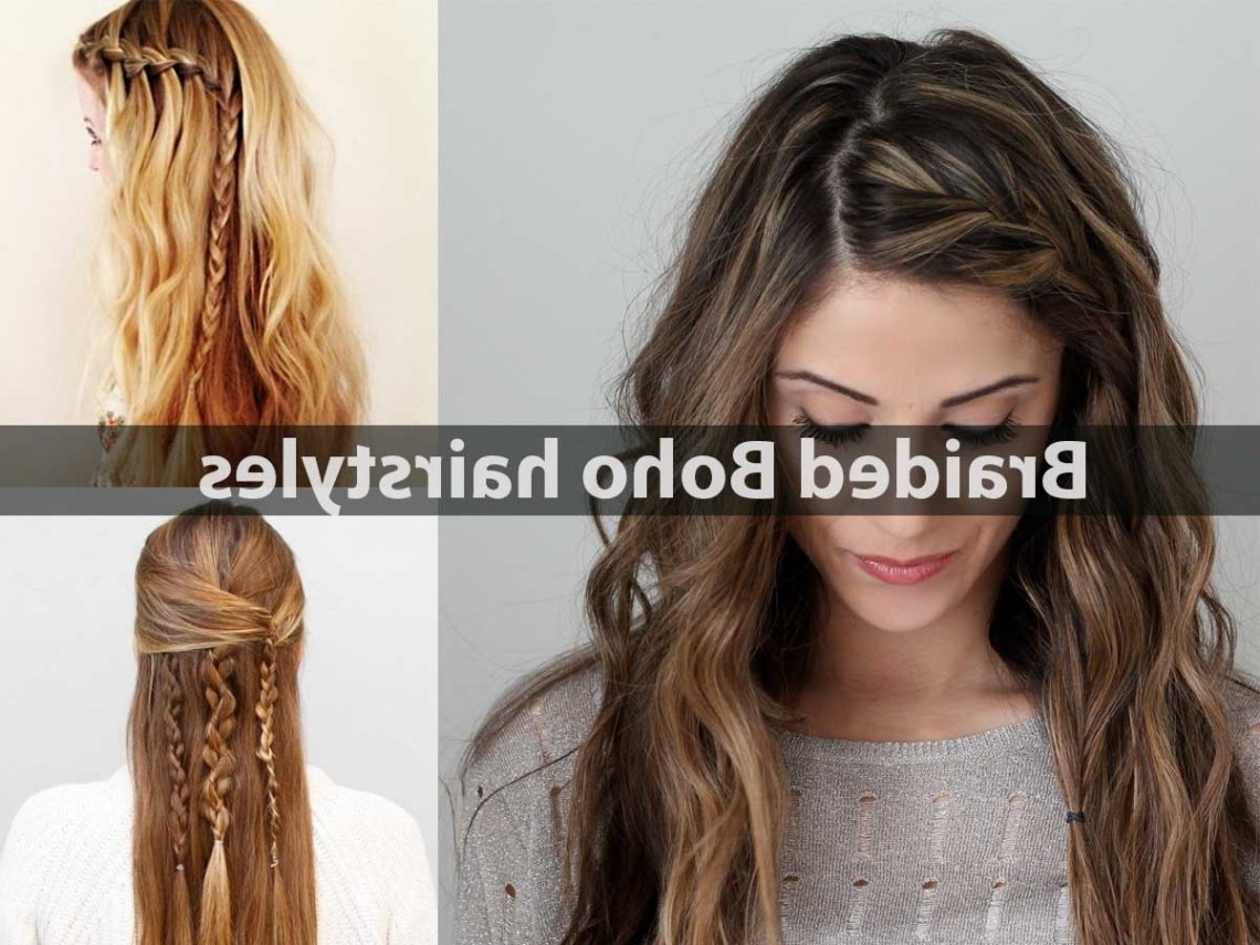 Cute Braided Boho Hairstyles Page 2 Of 2 Hairstyle For Women Cute Boho Hairstyles For Medium Hair