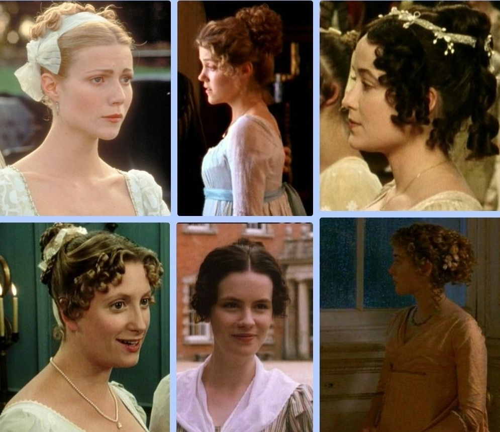 Dharma Leon : Images Or Picutures Of Regency Fashion, Hair Regency Hairstyles For Medium Hair