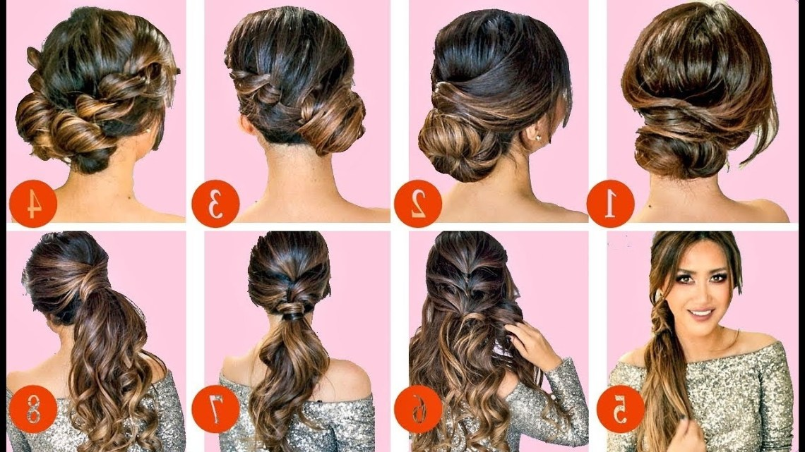 🔴 10 Elegant Hairstyles & Updos 🔴   Easy Hairstyle Tutorial For Long Medium Hair 20+ Awesome Easy Prom Hairstyle For Medium Long Hair