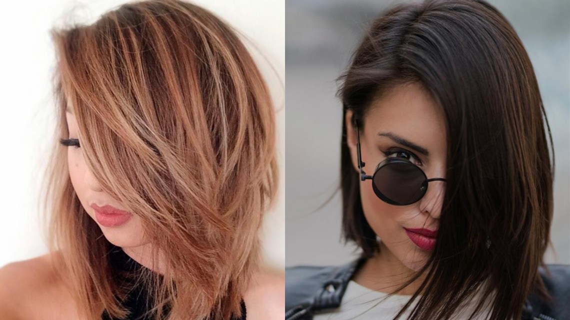 Get Amazedthis Medium Hairstyle That Will Fit Round Faces Popular Medium Hairstyles 2018